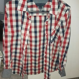 Brand new without tags red blue never been worn